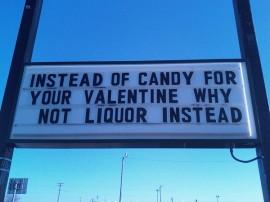 valentine liquor